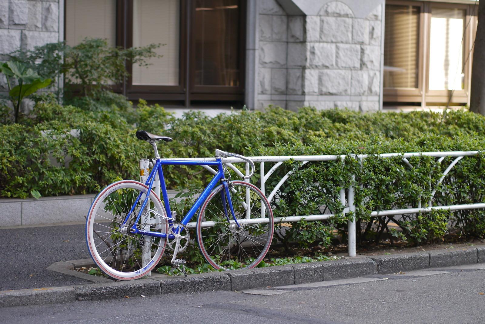 渋谷の自転車
