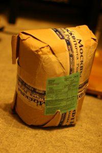 ウクライナから届いた小包