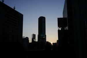 暮れゆく渋谷