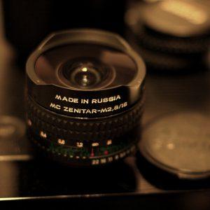 Zenitar 16mm f2.8 Fisheye