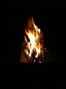炎を眺めてマッタリ良い時間