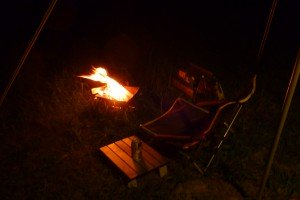 ソロ焚き火