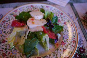 Cafe Bresseの美味しいサラダ