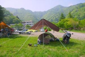 コールマンのタープとテント