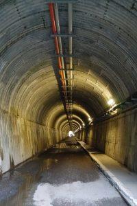 寸又峡の天使のトンネル