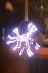 はまぎんこども宇宙科学館の雷の実験