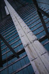 寸又峡の夢の吊橋