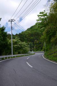 相模川水系広域ダム管理事務所への道