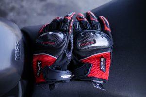 KOMINE GK-143 Super Fit Carbon Mesh Gloves DELOS(コミネ GK-143 スーパーフィットカーボンメッシュグローブ デロス)
