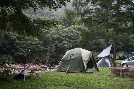 尾瀬の七入オートキャンプ場 (10)
