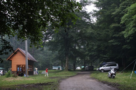 尾瀬の七入オートキャンプ場 (1)
