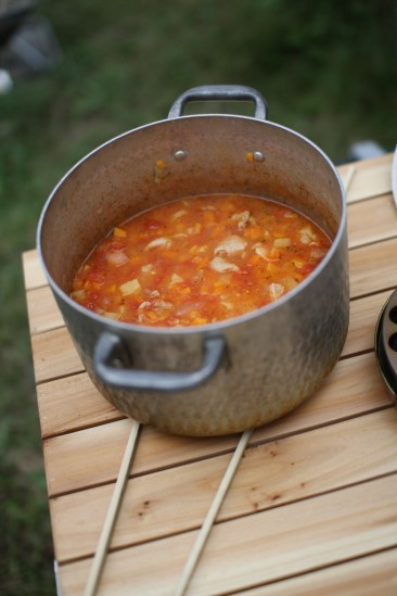 美味しいトマトスープ