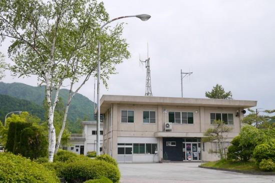 広瀬ダムの管理所