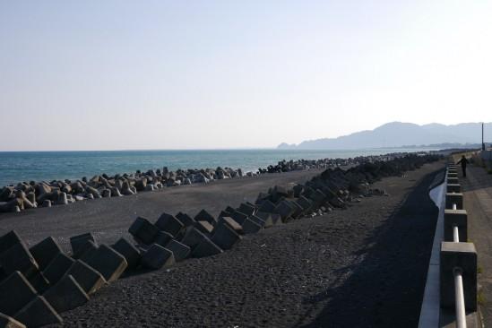 海岸沿いの風景