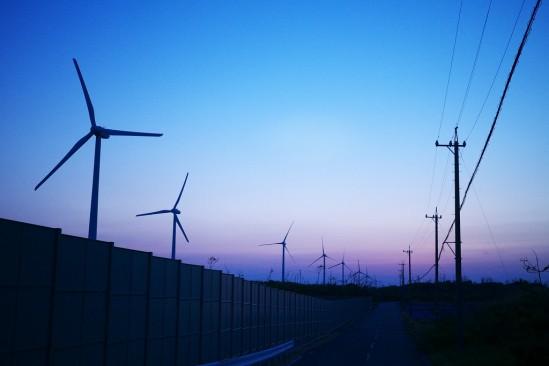 御前崎の風力発電