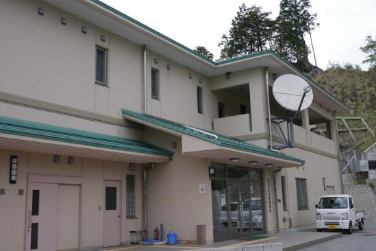 琴川ダムの管理所