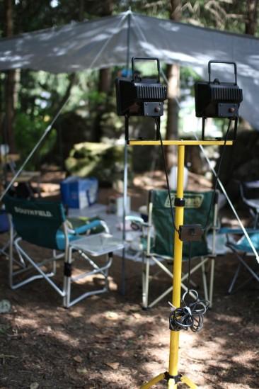 白馬アルプスオートキャンプ場 (1)