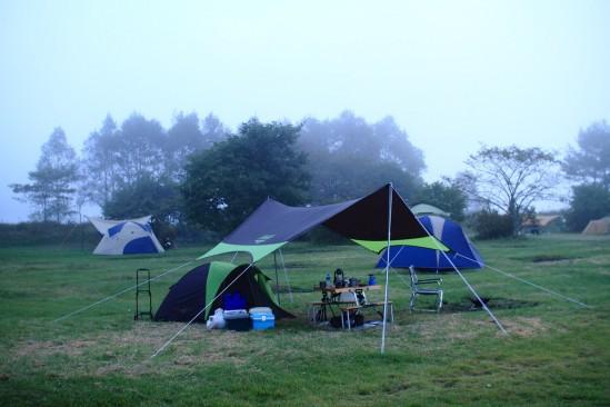 嬬恋のバラギ高原キャンプ場