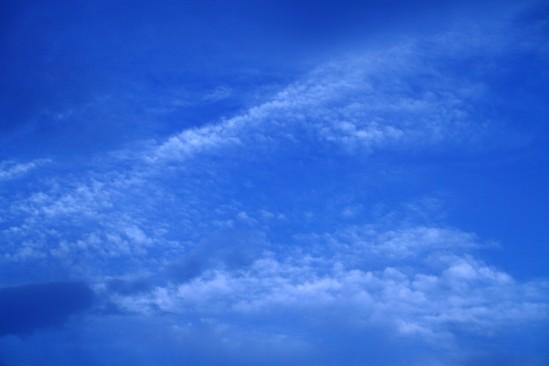 雲が面白い感じ