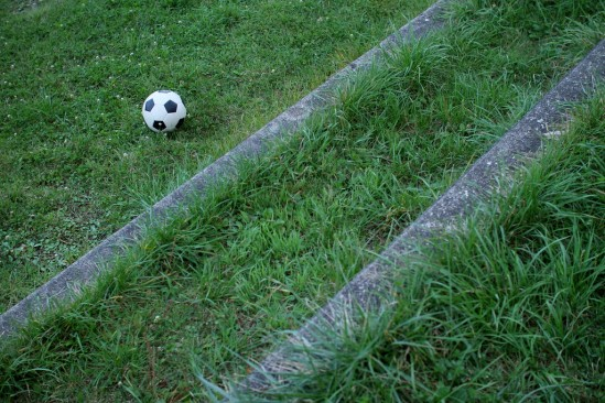誰かのサッカーボール