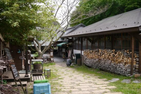 自然派レストラン美咲小舎の外観