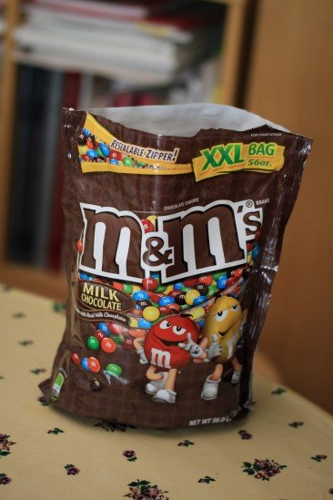 m&m's XXL BAG 56oz.