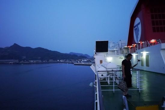 名門大洋フェリーで大阪から新門司まで (71)