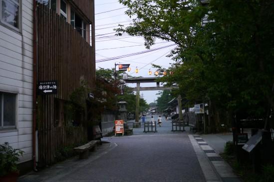阿蘇神社の鳥居