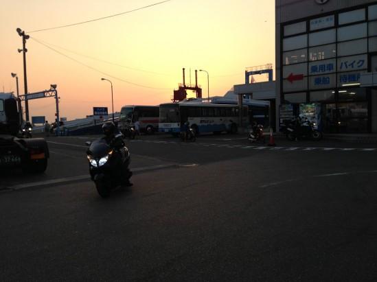 名門大洋フェリーで大阪から新門司まで (75)