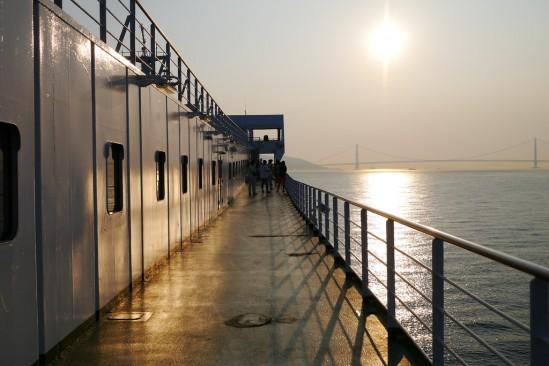 名門大洋フェリーで大阪から新門司まで (33)
