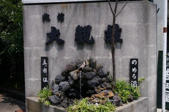 旅館 大観荘 のめる温泉