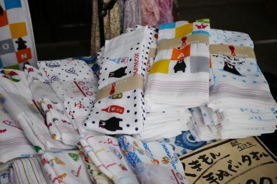 くまモンのタオル