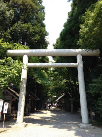 天岩戸神社の鳥居