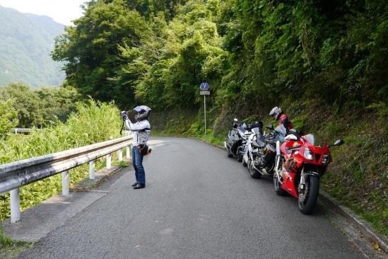 天岩戸神社~原尻の滝に抜ける県道7号線