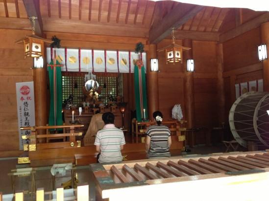 天岩戸神社の神楽殿