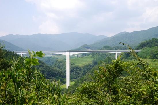 天岩戸神社~原尻の滝に抜ける県道7号線 (2)