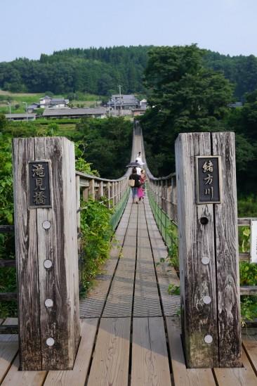 原尻の滝の滝見橋 (11)