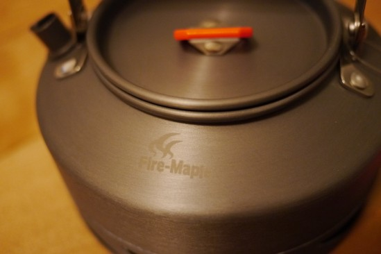 Fire-Maple FMC-XT1キャンプティーポット 0.8L 集熱板(ヒートエクスチェンジャー)付きやかん (3)