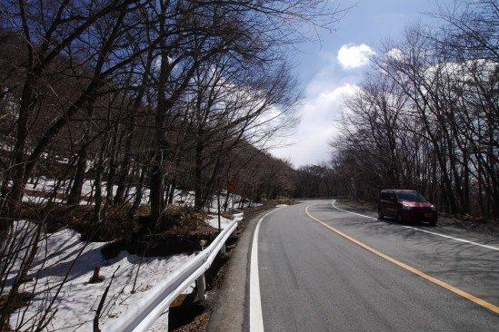 雪の残る赤城山 (8)