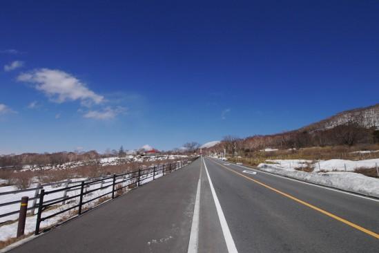 雪の残る赤城山 (10)
