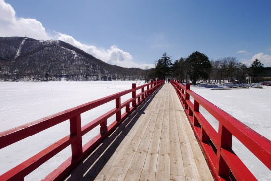 雪の残る赤城山 (20)