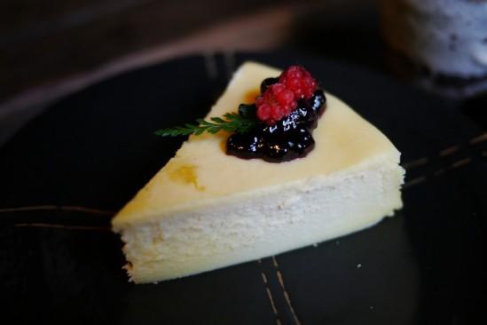 河津七滝の隠れ家レストラン ひぐらしのチーズケーキ