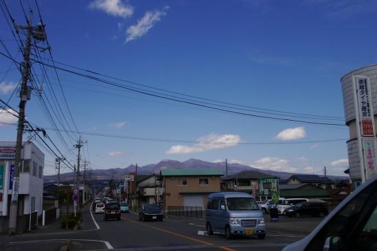 雪の残る赤城山 (2)