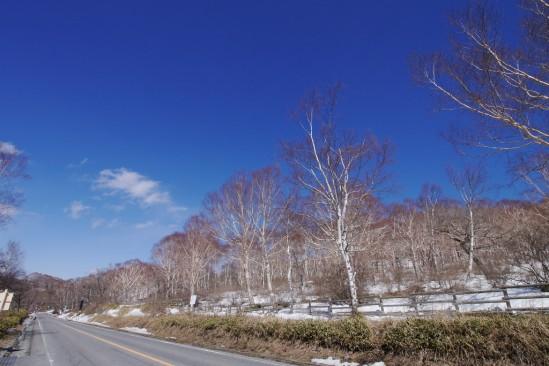 雪の残る赤城山 (12)
