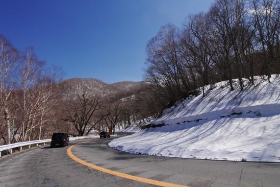雪の残る赤城山 (16)