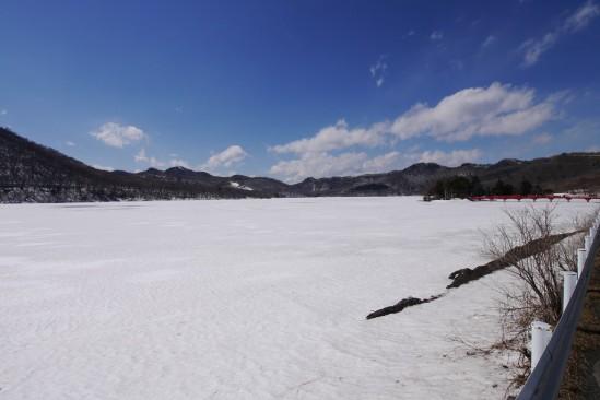 雪の残る赤城山 (18)