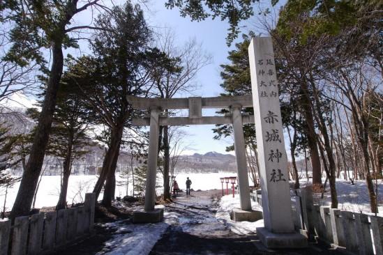 雪の残る赤城山 (23)