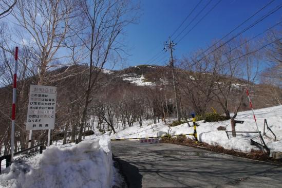 雪の残る赤城山 (29)