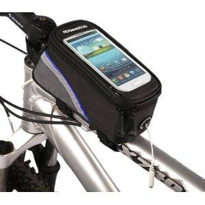 ROSWHEEL ロスホイール トライバッグ フレームバッグの通常の取り付け方