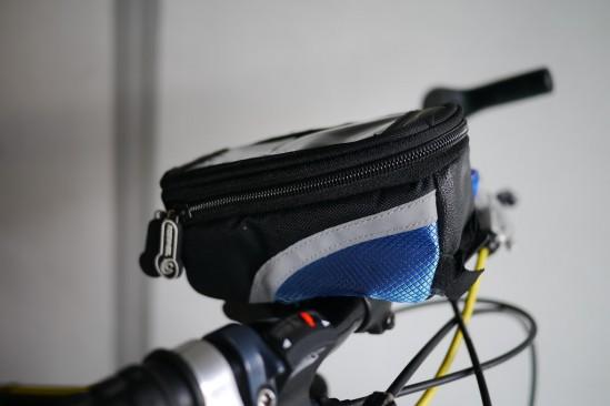 ROSWHEEL ロスホイール トライバッグ フレームバッグの便利な装着方